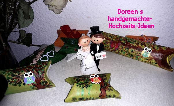 mit Namen und Datum WeddingMania Stempel Herzenherz Hochzeit Papeterie